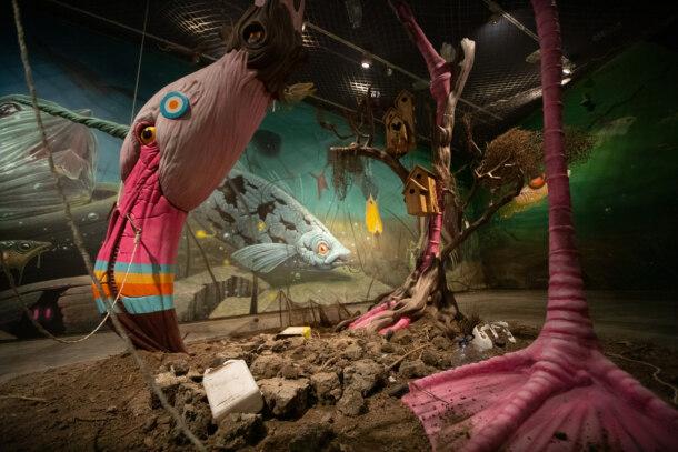 "Exposición ""Rondalla del fang"" de Dulk en el CCCC"