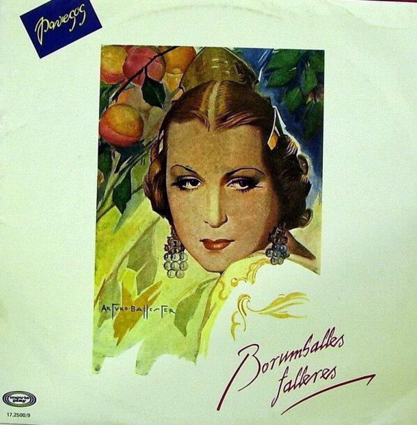 """Portada del disco """"Borumballes falleres"""", de Els Pavesos (1981)"""