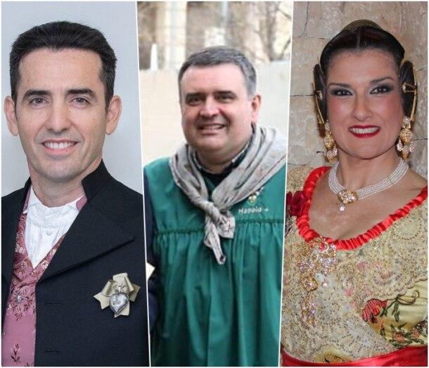 Presidentes de Convento, Exposición y Agrupación de Fallas de Mislata para 2022