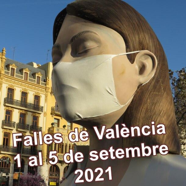 Meditadora - Falles de València 1 al 15 de setembre de 2021