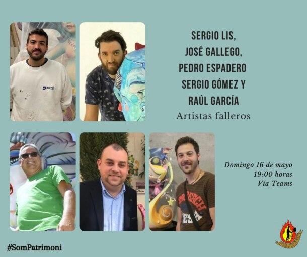"""""""Hablemos de Fallas"""" con la Falla Huerta Nueva (1ª charla)"""